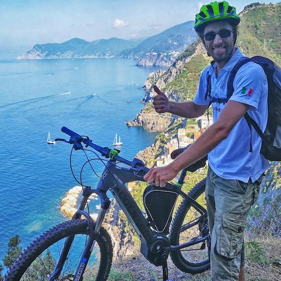 Ebike tours in the Cinque Terre Area